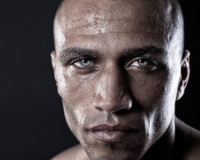 Sports portrait photography.