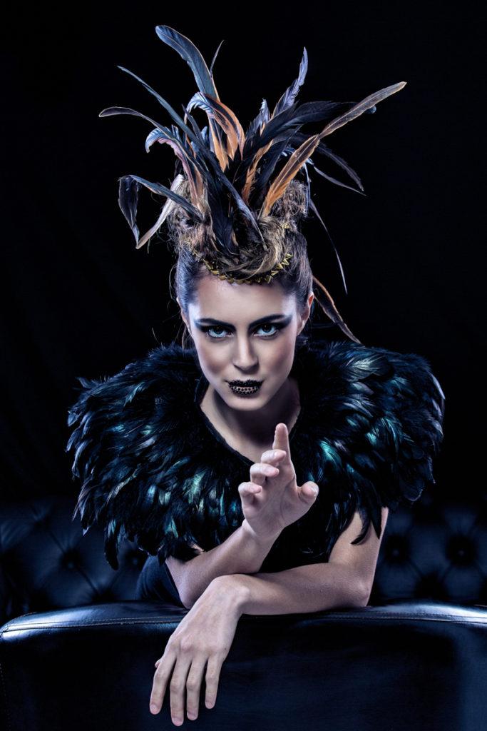 Creative hair photography