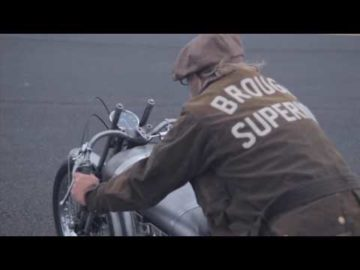 Brough Superior 750cc 'Baby Pendine' - The road to Bonneville 2013